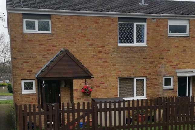 Thumbnail End terrace house for sale in Brighton Hill, Basingstoke, Hampshire