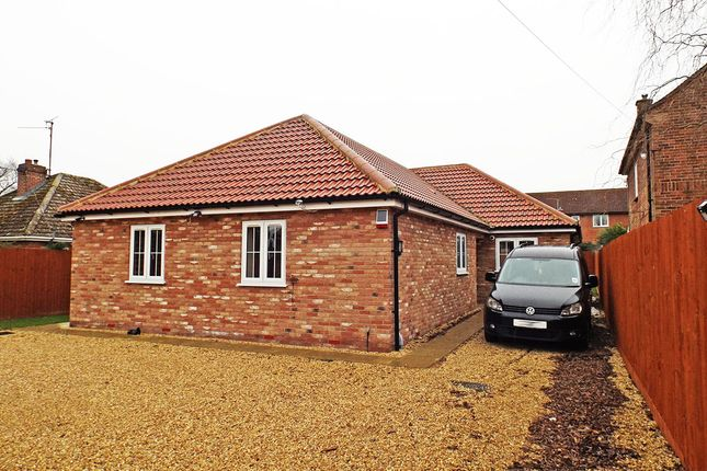 Thumbnail Bungalow for sale in Hall Lane, West Winch, King's Lynn