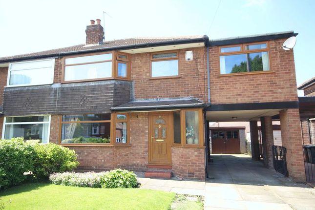 Thumbnail Semi-detached house for sale in Berkeley Drive, Lowerplace, Rochdale