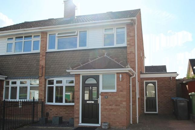 Thumbnail Semi-detached house for sale in Sackville Close, Stratford-Upon-Avon