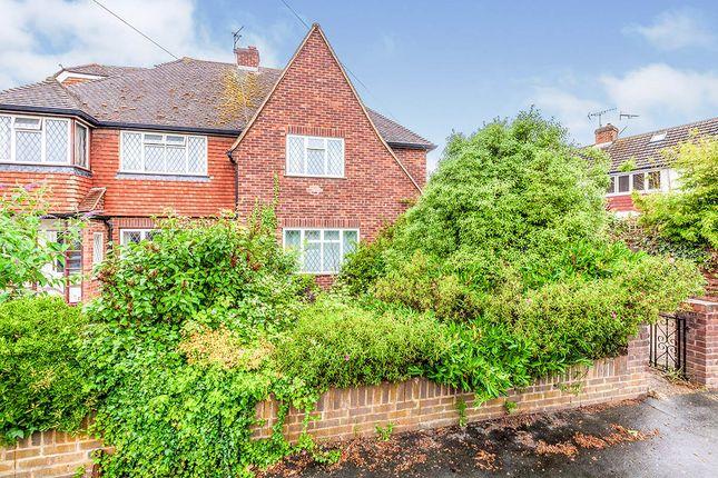 Thumbnail Semi-detached house for sale in Sheep Walk, Shepperton, Surrey