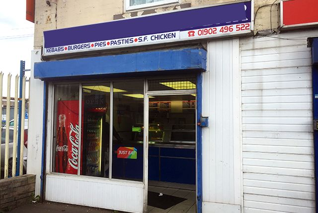 Thumbnail Restaurant/cafe for sale in Spring Road, Wolverhampton