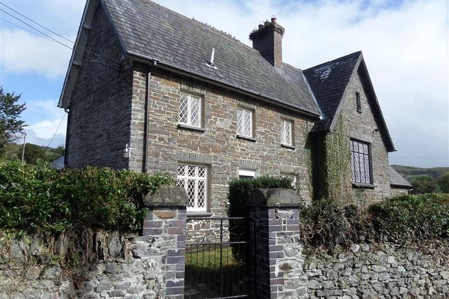 Thumbnail Semi-detached house to rent in Capel Bangor, Aberystwyth