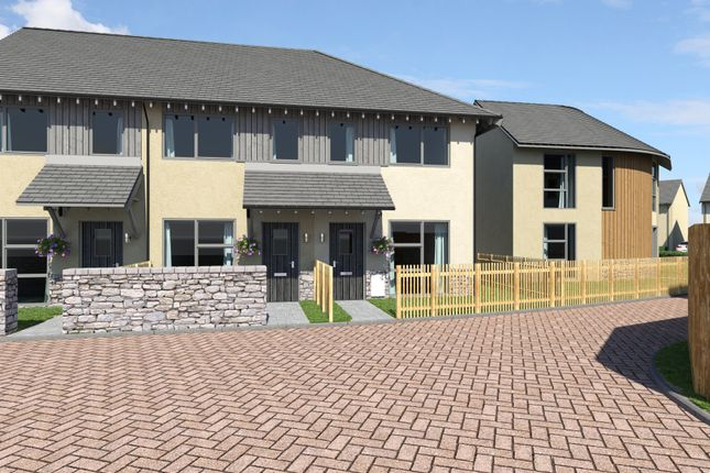 Thumbnail Terraced house for sale in Plot 28, Yarners Mill, Dartington, Devon