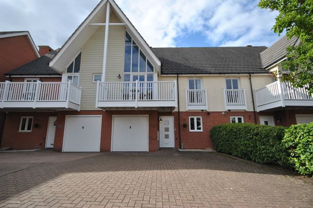 Thumbnail Terraced house to rent in Woodshires Road, Solihull