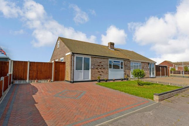 Thumbnail Semi-detached bungalow for sale in Newport Drive, Clacton-On-Sea