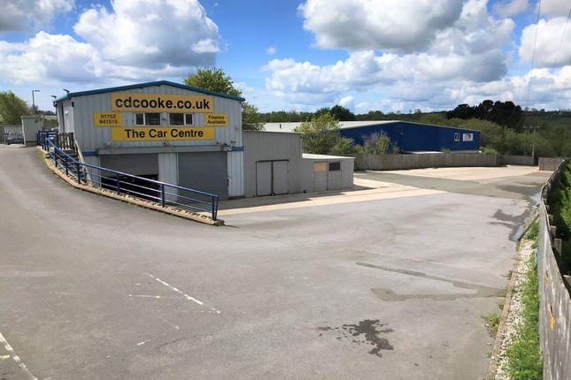 Thumbnail Retail premises to let in Moorlands Trading Estate, Saltash, Cornwall