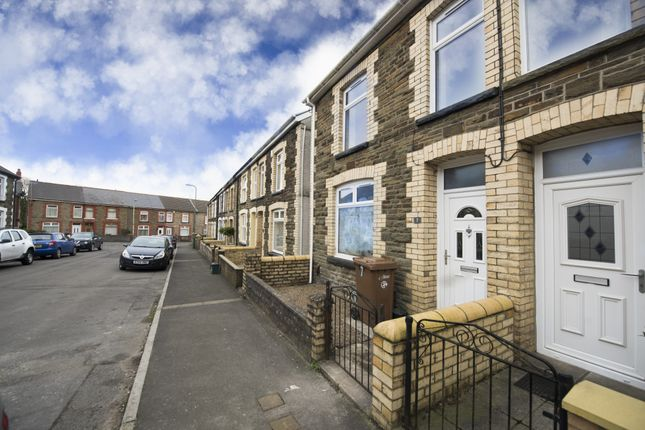 Thumbnail End terrace house for sale in Woodland Place, Gilfach, Bargoed, Mid Glamorgan