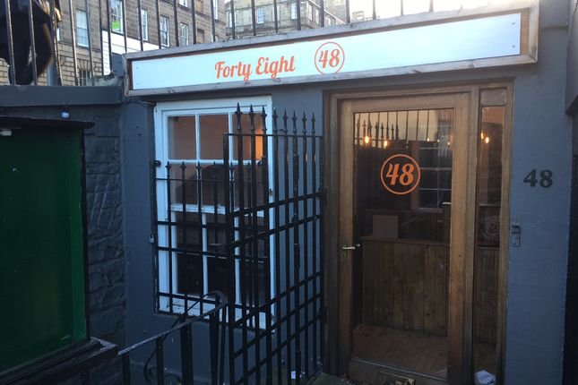 Leisure/hospitality to let in Howe Street, New Town, Edinburgh