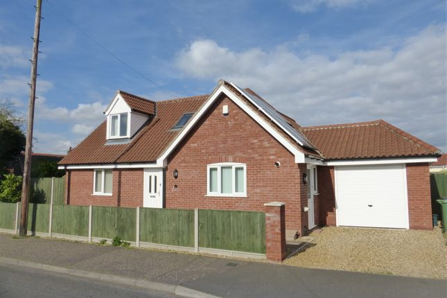 Thumbnail Bungalow for sale in Bramble Avenue, Hellesdon, Norwich