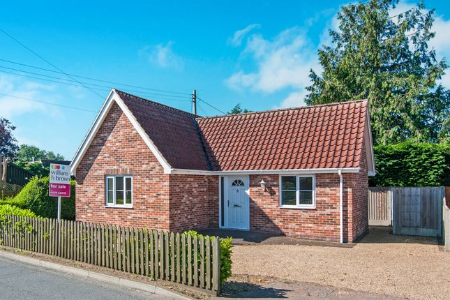 Thumbnail Detached bungalow for sale in Hepworth Road, Barningham, Bury St. Edmunds