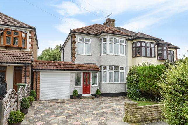 Thumbnail Semi-detached house for sale in Beltinge Road, Harold Wood