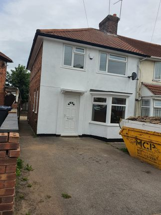 Thumbnail End terrace house for sale in Brunton Road, Small Heath Birmingham