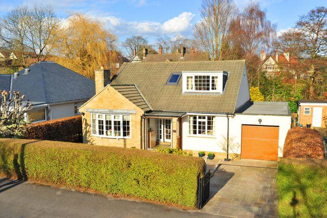 Thumbnail Detached bungalow for sale in Belgrave Crescent, Harrogate