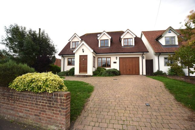 Thumbnail Detached house for sale in The Street, Roxwell, Chelmsford