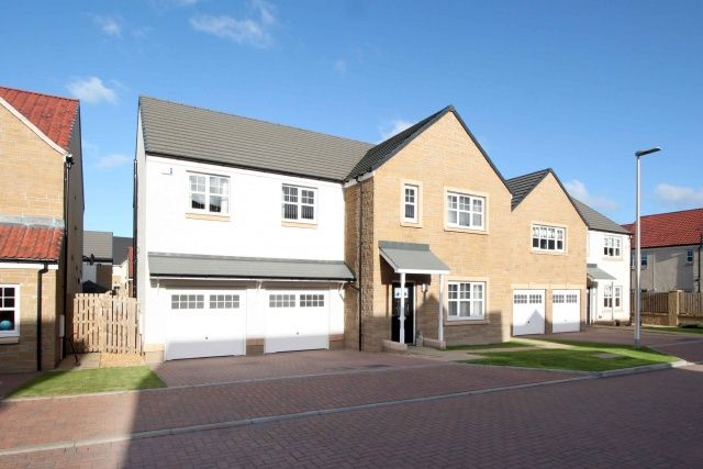 Thumbnail Detached house for sale in Rowling Crescent, Larbert, Falkirk