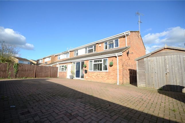Thumbnail Semi-detached house for sale in Melford Green, Caversham, Reading