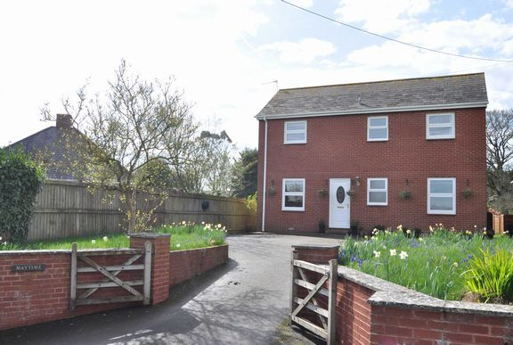 Thumbnail Detached house for sale in Honiton Road, Cullompton