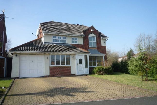 Thumbnail Detached house to rent in Reedley Drive, Ellenbrook, Worsley, Manchester
