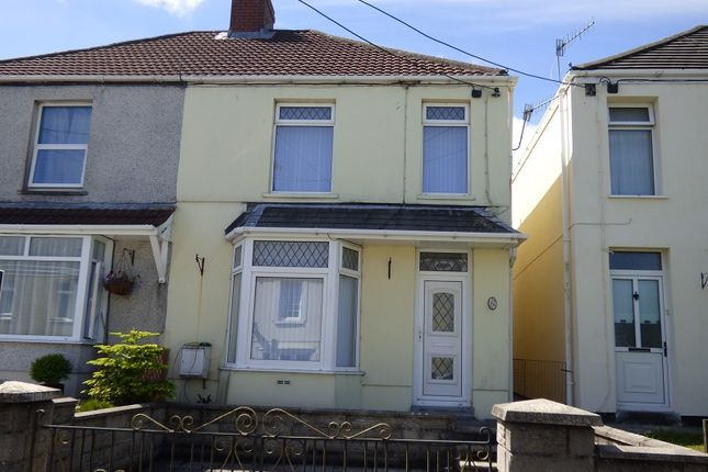 Thumbnail Semi-detached house to rent in Main Road, Dyffryn Cellwen, Neath.