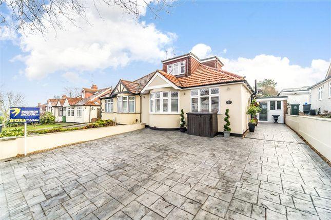 Thumbnail Semi-detached bungalow for sale in Summerhouse Drive, Joydens Wood, Kent