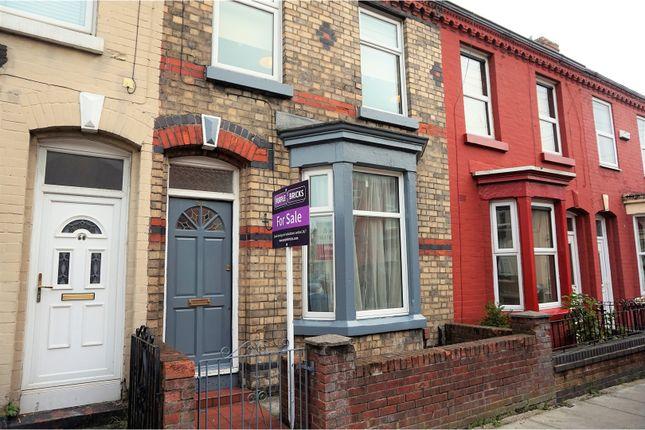 Thumbnail Terraced house for sale in Stevenson Street, Liverpool