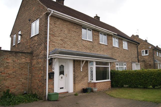 Thumbnail Semi-detached house to rent in California Drive, Horbury
