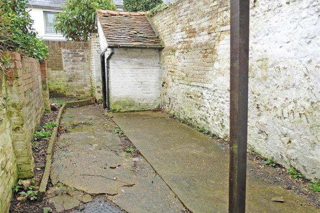 Rear Garden of Sun Street, Lewes, East Sussex BN7