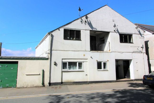 Thumbnail Flat for sale in New Road, Callington