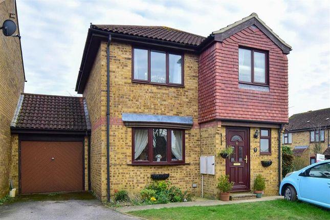 Thumbnail Detached house for sale in Bamborough Close, Southwater, Horsham, West Sussex