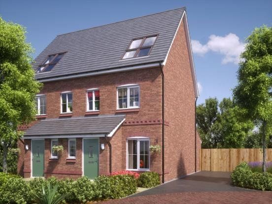 Thumbnail Semi-detached house for sale in Plot 102, Coseley Road, Bilston, West Midlands