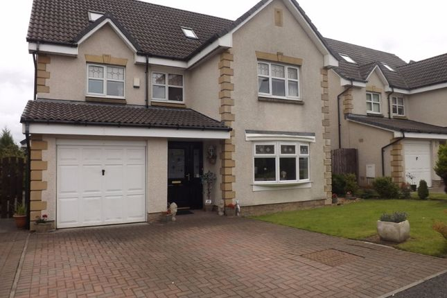 Thumbnail Detached house for sale in Burte Court, Bellshill, North Lanarkshire