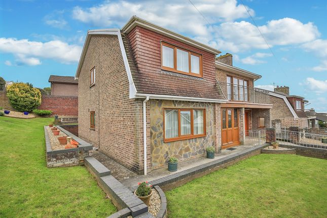 Thumbnail Detached house for sale in Seaview Drive, Ogmore-By-Sea, Bridgend