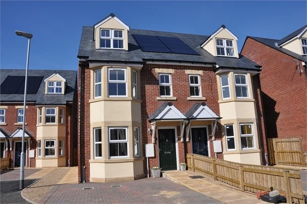 Thumbnail Semi-detached house for sale in South Gables, Haydon Bridge, Northumberland.