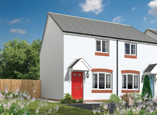 Thumbnail Semi-detached house for sale in Tregony Road, Probus, Truro