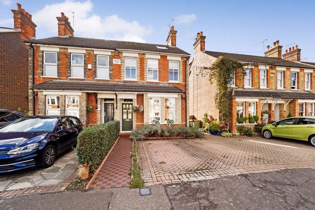 Thumbnail Semi-detached house for sale in Warescot Road, Brentwood