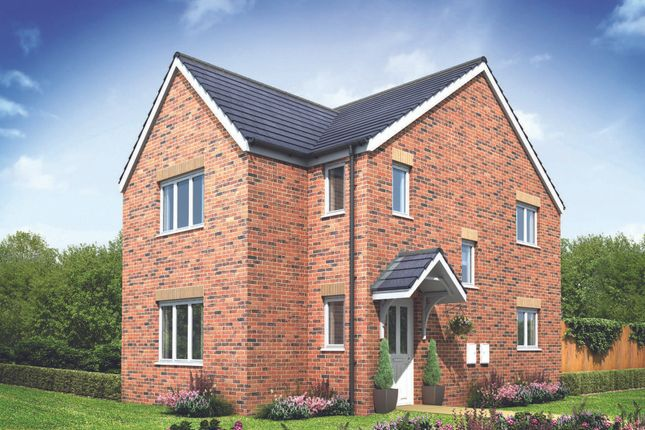 "Thumbnail Detached house for sale in ""The Hatfield Corner"" at Brickburn Close, Hampton Centre, Peterborough"