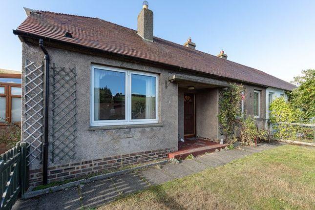 Thumbnail Semi-detached bungalow for sale in Cockholm Crescent, Stow, Galashiels