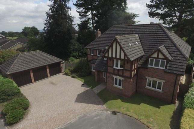 Thumbnail Detached house for sale in Mayfield Gardens, Shrewsbury