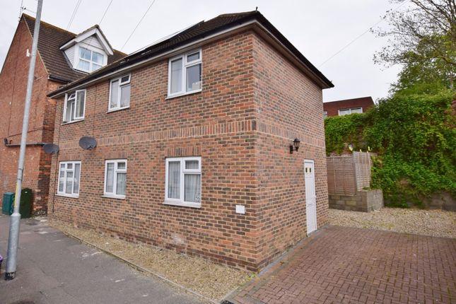 Thumbnail Flat for sale in Bradstone Avenue, Folkestone, Kent