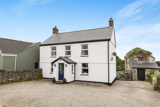 Thumbnail Detached house for sale in Kenneggy Downs, Rosudgeon, Penzance