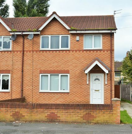 Thumbnail Semi-detached house to rent in Glegside Road, Kirkby, Liverpool
