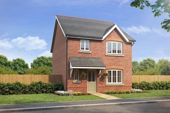 Thumbnail Detached house for sale in Village Road, Northop Hall, Flintshire