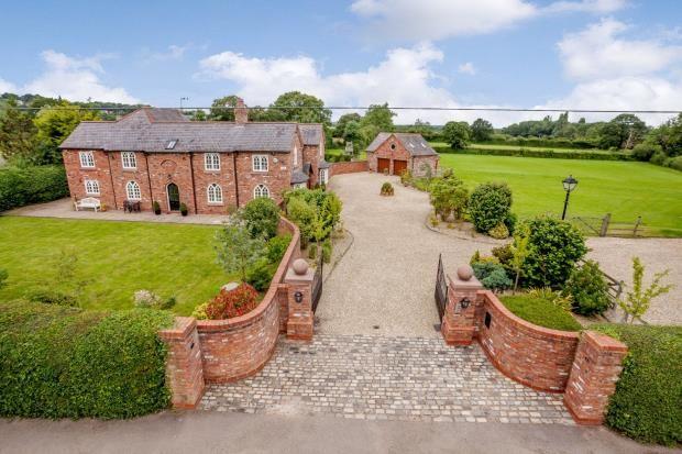 Thumbnail Detached house for sale in Cox Lane, Rossett, Wrexham