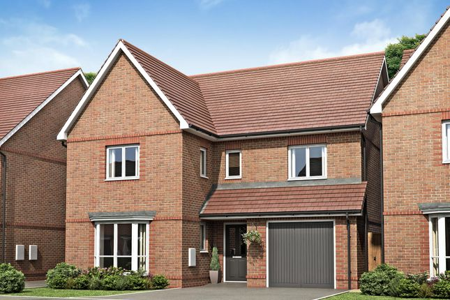 "Thumbnail Detached house for sale in ""Drummond"" at Hyde End Road, Spencers Wood, Reading"