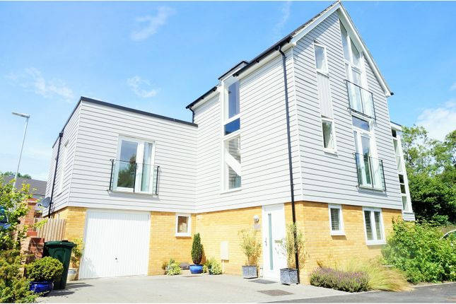 Thumbnail Detached house for sale in Campion Close, Ashford