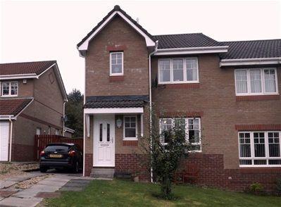 Thumbnail Semi-detached house to rent in Kilne Place, Livingston, Livingston