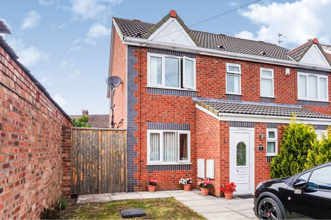 Thumbnail Semi-detached house for sale in Leamoore Close, Liverpool