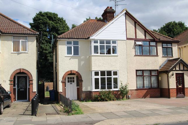 Semi-detached house for sale in Eutace Road, Ipswich