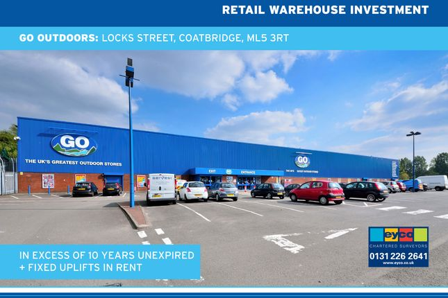 Thumbnail Commercial property for sale in Locks Street, Coatbridge